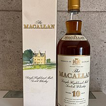 Macallan 10 Years Single Malt Scotch Whisky Sherry Oak 綠莊園版