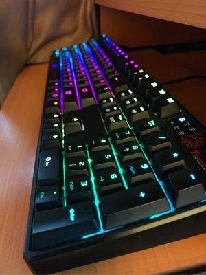 TTeSport RGB keyboard99%new