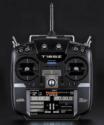 【 E Fly 】Futaba 16SZ 高階彩色觸控螢幕遙控器+R7008SB 接收器 原廠公司貨 實體店面