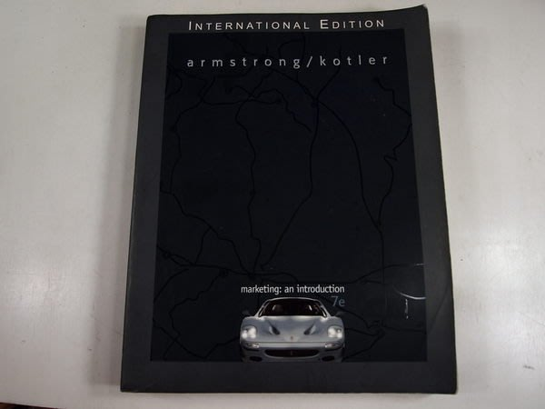 【考試院二手書】《Marketing : an Introduction》ISBN:0131273124│Prentice Hall│八成新(22Z21)