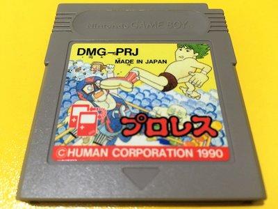 幸運小兔 GB遊戲 GB 職業摔角 Wrestling GB卡帶 GBC、GBA 主機適用 D4