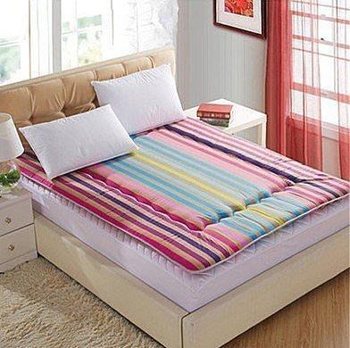【優上精品】榻榻米床墊學生宿舍用單人雙人床墊加厚軟床墊海綿床墊床褥子墊被居家(Z-P3257)