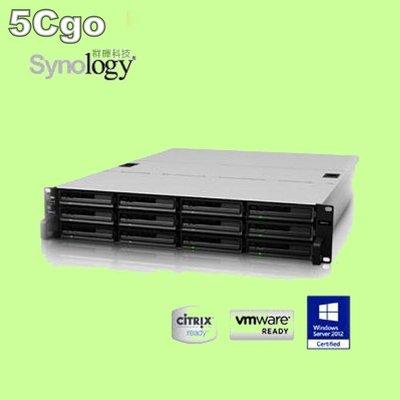 5Cgo【權宇】群暉 Synology RS2414RP+ 機架式網路儲存伺服器 (2U) 含稅會員扣5%