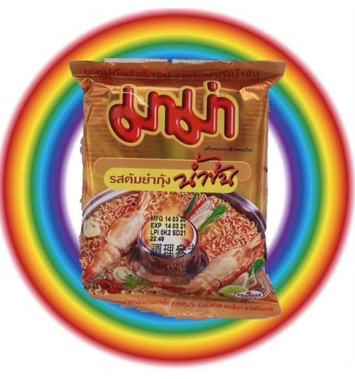 【圓圓商店】泰國?? mama系列泡麵多種口味55g~60g/包