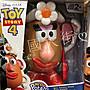 【美國大街】正品.美國迪士尼玩具總動員蛋頭先生蛋頭太太 Potato Head 7吋 / 17cm