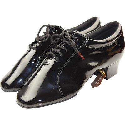 舞蹈服飾 專業男士亮皮拉丁舞鞋進口漆皮二點底貝蒂舞鞋420國標舞鞋軟底鞋