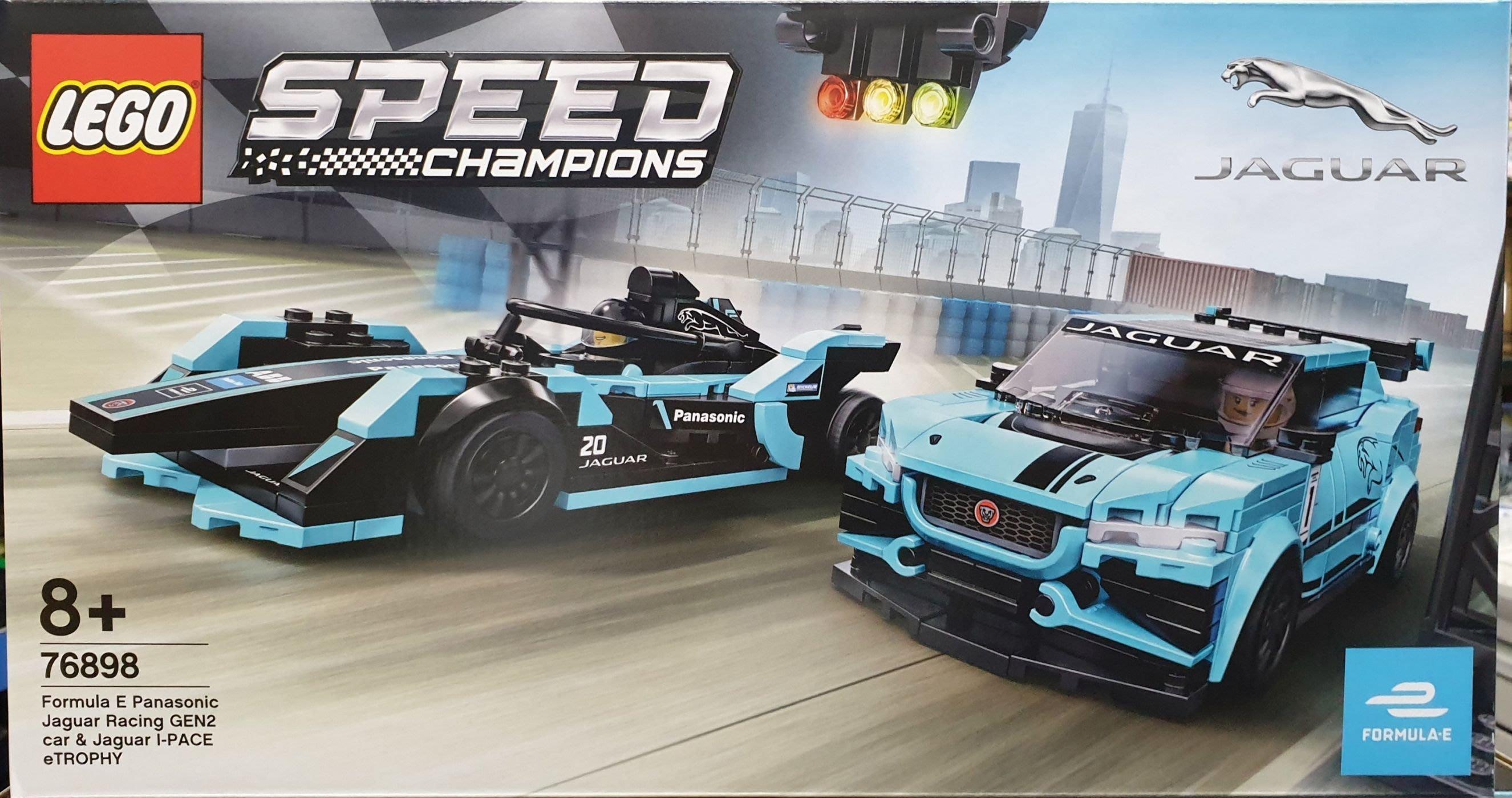 【鄭姐的店】樂高 76898 SPEED 系列 - Formula E Panasonic Jaguar Racing