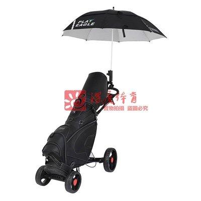 正品高爾夫四輪球包拉車鋁合金可折疊手推車GOLF Trolley Cart.P用品