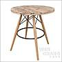 北歐工業風 DSW腳 咖啡桌 圓桌 洽談桌 CU04...