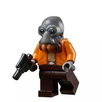 LEGO樂高 星戰大戰75290莫斯艾斯利小酒館 人仔 龐達 全新現貨