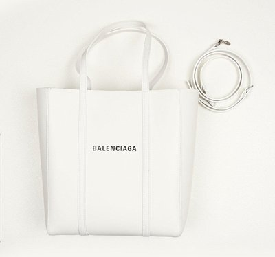Balenciaga XS EVERY DAY LEATHER TOTE肩背手提兩用包 白色