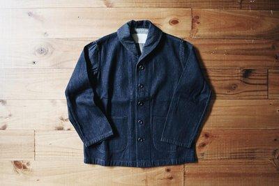 ROLLING ON自製 US Navy shawl collar jacket