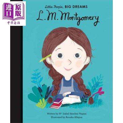 小人物大夢想:蒙哥馬利 Little People, Big Dream 獨立閱讀入門 兒童繪本 名人科普 7~12歲