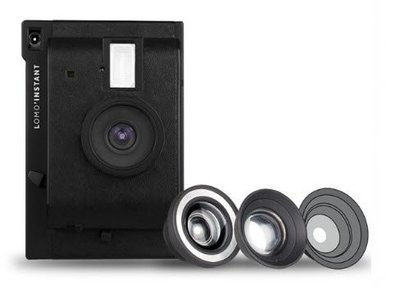 【eWhat億華】 Lomography Lomo Instant Black + 3 款鏡頭套裝 拍立得 黑色 公司貨 年末大出清 類 MINI90 【4】