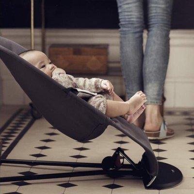 YEAHSHOP 嬰兒搖搖椅 躺椅安撫椅搖籃椅 新生兒寶寶平衡搖椅哄睡神器睡床Y185