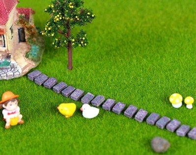 奇奇店-手工diy沙盤模型材料苔蘚微景觀多肉擺件圍牆磚塊磚頭行道磚砌牆