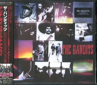 (甲上唱片) BANDITS - AND THEY WALKED AWAY - 日盤+1BONUS