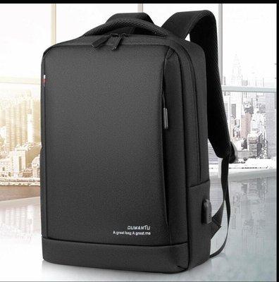 【 新和3C館 送手機支架 】Oumantu 電腦商務雙肩背包 雙肩包 後背包 休閒包 電腦包 騎行背包