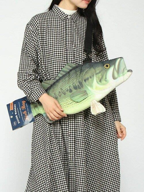 魚再出没..療癒系魚包Fish Bag- LargeMouth Bass新版大嘴魚3D萌包 造型更Q品質更好.限量推出