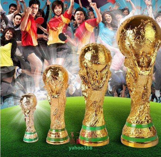 美學138巴西世界 杯紀念品2014年大力神杯1 1冠軍獎杯模型36cm裝❖1073