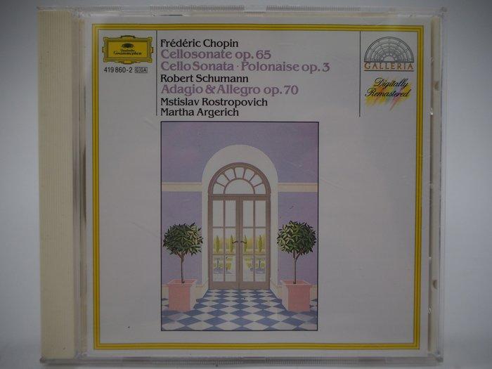 Chopin…_Schumann…_Rostropovich/Argerich_蕭邦大提琴奏銘曲…_古典樂〖專輯〗CIR
