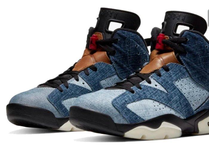 現貨- JORDAN 6 WASHED DENIM 水洗單寧 CT5350-401 籃球鞋
