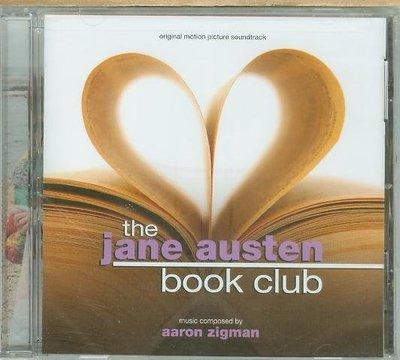 """""""奧斯丁書會(Jane Austen Book Club)""""- Aaron Zigman,全新美版"""