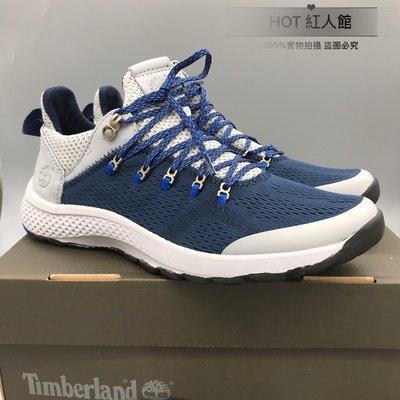 出清特賣 Timberland添柏嵐新款飛行潮運動鞋男鞋 A1O13 原單官網同步販售 藍色39-44