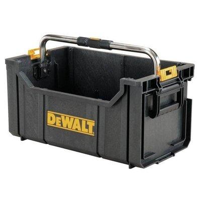 【米粒五金】全新公司貨 美國 DEWALT 得偉 硬漢系列 大提把開口工具箱 收納箱 手提箱 硬漢箱 DWST08206