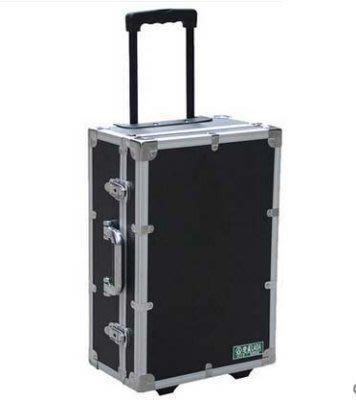 【易購生活館】老A 高檔拉桿箱 工具箱 加強型鋁合金拉桿箱 LA112520 鋁制外框 內部防震 密碼鎖設計