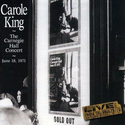 卡內基音樂廳演場實況錄音 Carnegie Hall Concert/卡洛金 Carole King---4851042