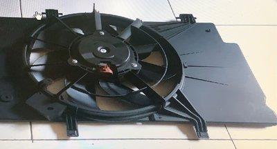 10-13 Fiesta 1.4/1.6 原廠型水箱風扇總成(選用BOSCH馬達組裝)
