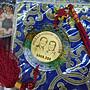 ☆豐臣館☆中華民國第12任總統副總統就職紀念馬英九蕭萬長紀念章2008.520琉璃吊飾~ZL