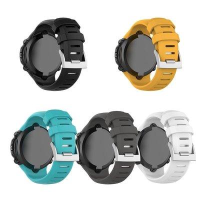 SUUNTO鬆拓D6 Dive/ D6i NOVO/ZULU矽膠錶帶 配長錶帶 贈工具一把