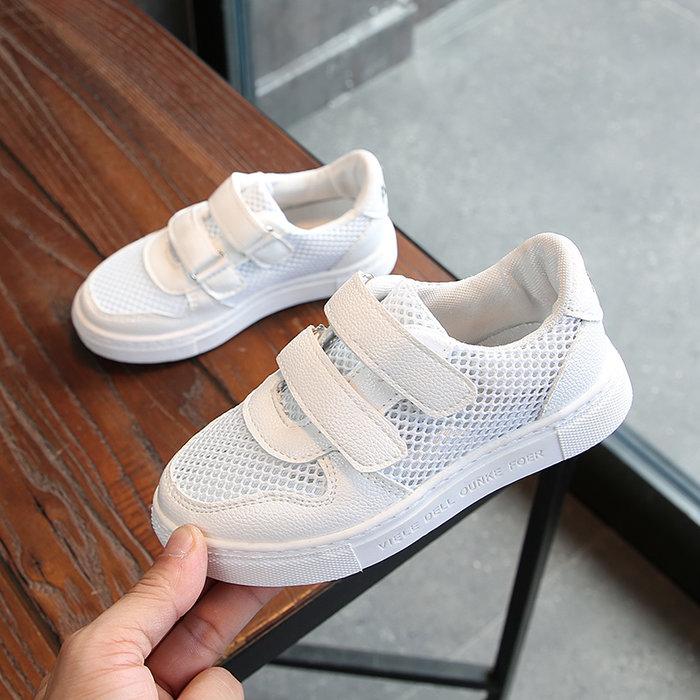 兒童運動鞋透氣網鞋夏季網面男童鏤空鞋女童單鞋寶寶新款童鞋