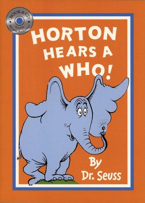 *小貝比的家*HORTON HEARS A WHO! /平裝書+CD/3~6歲