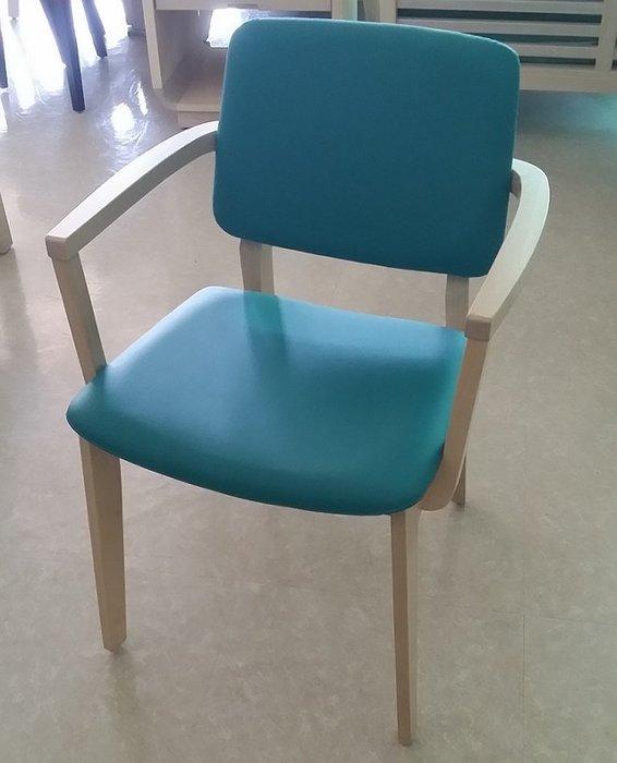 *金嘉美時尚傢俱生活館*CK36R扶手餐椅