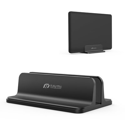 【發票】黑色 鋁合金 金屬 Macbook支架 筆電立式收納支架 筆記型電腦立架 MacBook 桌面辦公桌收納 配件