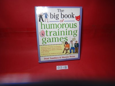 【愛悅二手書坊 05-18】the big book of humorous training games