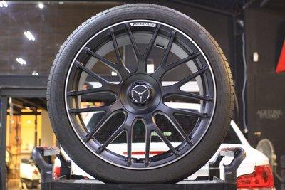 【 成佳汽車 】稀有 BENZ賓士C63 S鍛造正AMG19吋前後配鋁圈含胎W205 W212 C450 C63 AMG