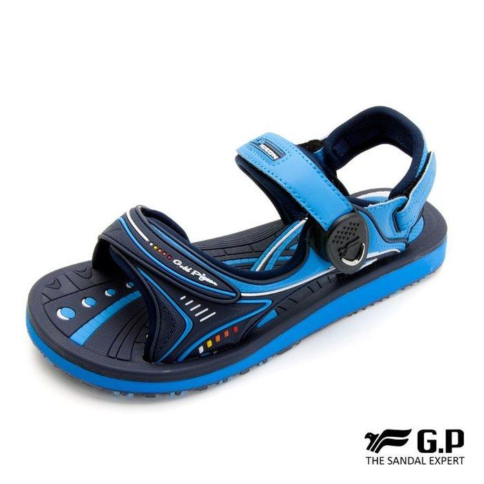 鞋鞋樂園-超取免運-GP-吉比-阿亮代言-高彈力舒適涼拖鞋-兩用鞋-磁扣設計-穿脫方便-GP涼鞋-G8666BW-20