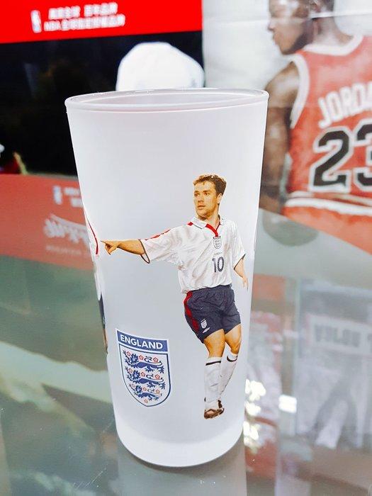 《金塊》英格蘭足球 玻璃杯 GLAAS 2004年