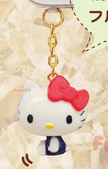 東京家族 kitty 可愛造型防塵塞 紅色