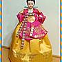 【正宗 韓國製造】早期韓國 傳統女服 人偶