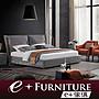 『 e+傢俱 』BB25 林賽 Linsey 雙人床架 | ...