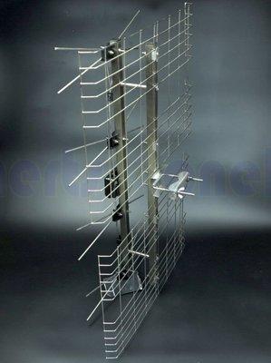 現貨供應 NPE-4DXB-S 全不銹鋼天線 UHF 4D數位天線 反射波天線 不需插電 不生鏽 高畫質 免費頻道 白鐵