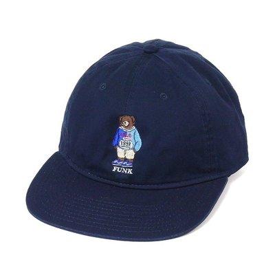 { POISON } INTERBREED LO BEAR BALL CAP 日本頂級刺繡小熊棒球帽老帽