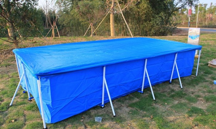 Bestway歐美第一認證/支架泳池罩 泳池蓋 遮雨布 防塵罩 游泳池防塵蓋 天幕 地墊 支架水池蓋 三種尺寸可挑