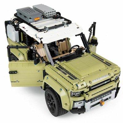 積木城堡 迷你廚房 早教益智LEGO42110科技機械組系列路虎衛士越野車男女孩拼裝積木玩具