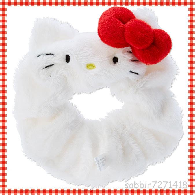 JP購✿造型大腸髮圈 kitty 凱蒂貓 FD93 髮束 髮飾 髮圈 大腸圈 大腸髮圈 美髮 4550337976852